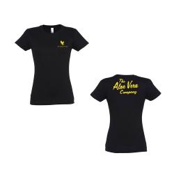 58e6a91a47 Póló The Aloe Vera Company - fekete - női